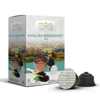 MUST English Breakfast Tea Dolce Gusto kompatibilis kapszula