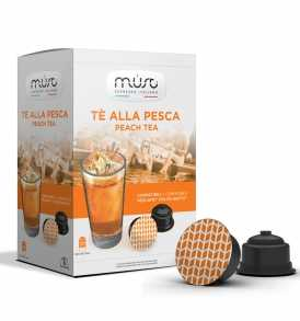 MUST Peach Ice Tea Dolce Gusto Kompatibilis kapszula